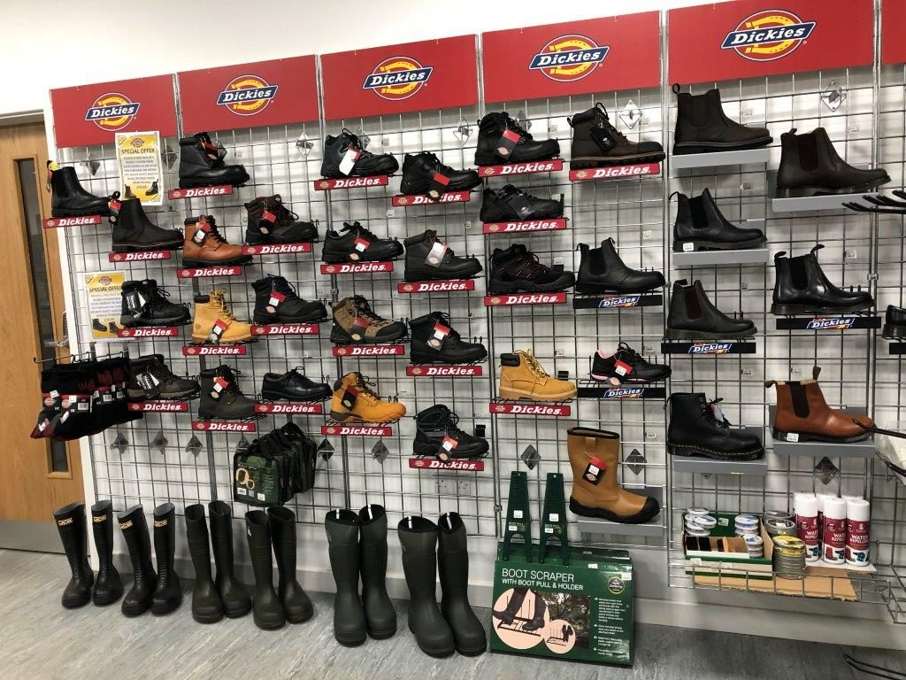 Dickies work boots and wellington boots