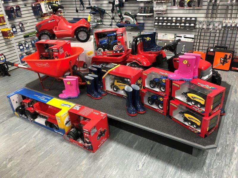 Children's tractor toys
