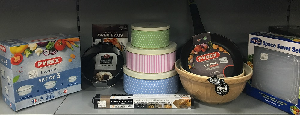 pecks kitchenware range